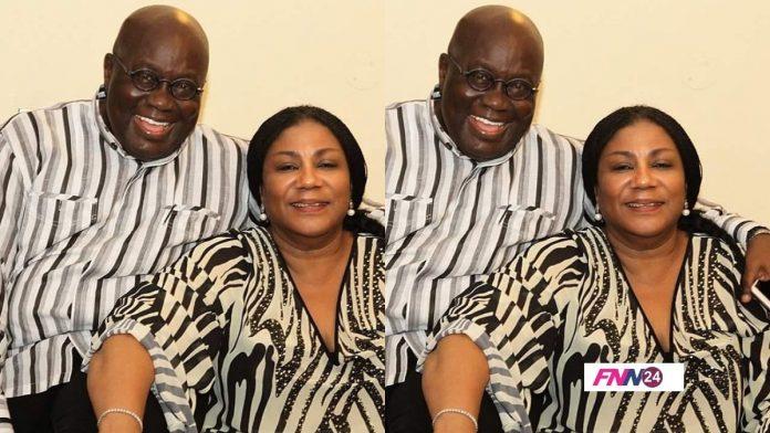 President Akufo-Addo and first lady Rebecca Akufo-Addo