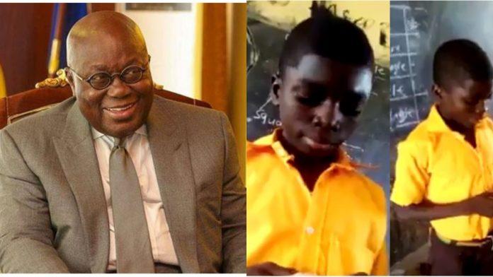 Akufo-Addo and JHS boy