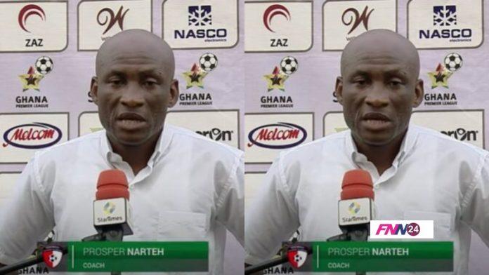 WAFA Coach, Dr. Prosper Narteh Ogum