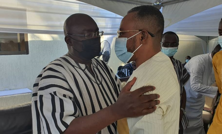 Owusu Bempah meets Dr. Bawumia