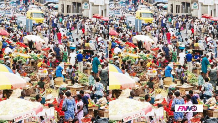 2021 population in Ghana